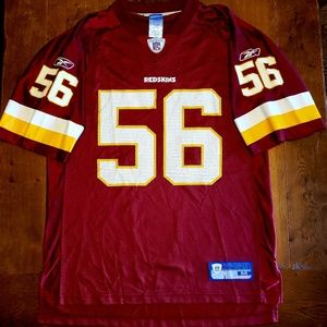 Vintage Redskins NFL football jersey Arrington